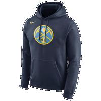 e877cb608dea1f Nike NBA Club Logo Hoodie - Men s - Denver Nuggets - Navy   Light Blue