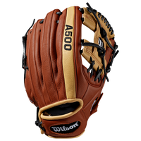Wilson A500 1911 Baseball Glove - Grade School - Brown / Tan