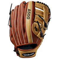 Wilson A500 125 Baseball Glove - Grade School - Brown / Tan