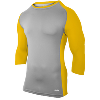 20th Century Fox Baseball Compression Top - Men's - Grey / Gold