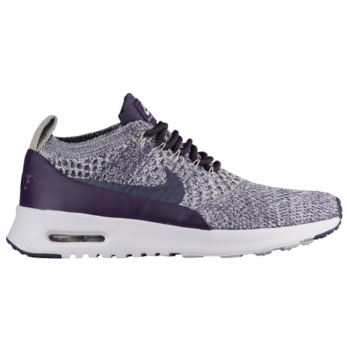 Nike Air Max Thea Ultra Flyknit - Women's - Casual - Shoes - Dark  Rasin/Dark Rasin/White