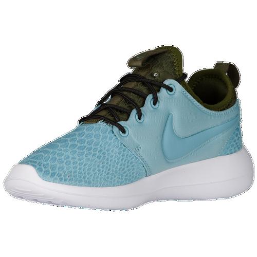 Nike Roshe Two - Women's - Casual - Shoes - Mica Blue/Mica Blue/Legion  Green/Black/White