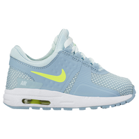 Nike Air Max Zero - Girls\u0027 Toddler - Light Blue / Light Green