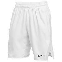 Nike Team Untouchable Speed Shorts - Men's - All White / White