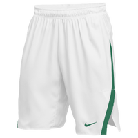 Nike Team Untouchable Speed Shorts - Men's - White / Dark Green