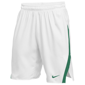 Nike Team Untouchable Speed Shorts - Men's - White/Dark Green