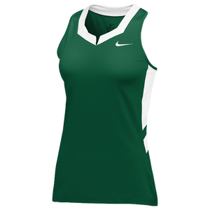 Nike Team Untouchable Speed Jersey - Women's - Dark Green/White