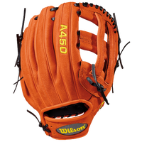 Wilson A450 Fielder's Glove - Boys' Grade School - Tan / Black