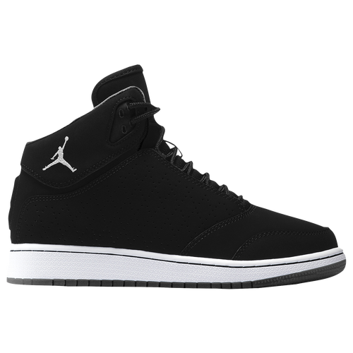 5985f80e2e095e Jordan 1 Flight 5 Premium - Boys  Grade School - Basketball - Shoes -  Black White White