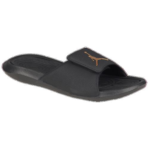 ce56a4211f11f0 Jordan Hydro 6 - Men s - Casual - Shoes - Black Black Metallic Gold