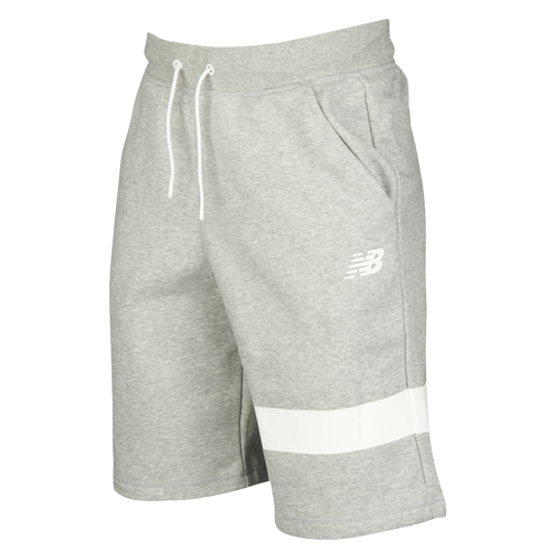 New Balance Classic Reflective Shorts - Men's Casual - Athletic Grey 81521AG