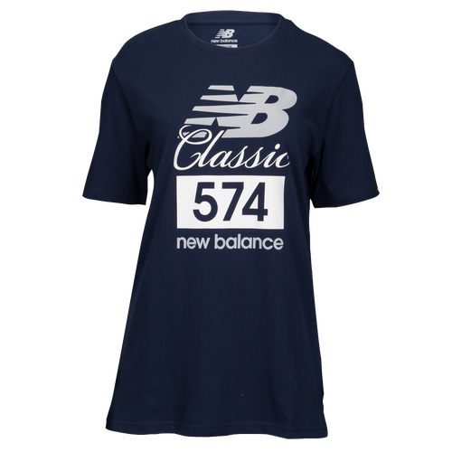 New Balance Classics 574 T-Shirt - Men's Casual - Pigment 81543PGM