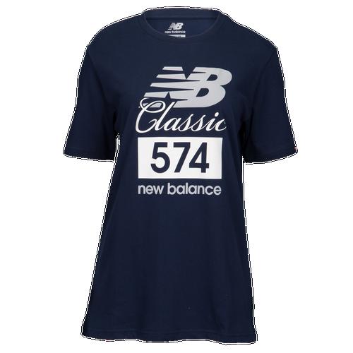 New Balance Classics 574 T-Shirt - Men's Casual - Pigment 81543PGM