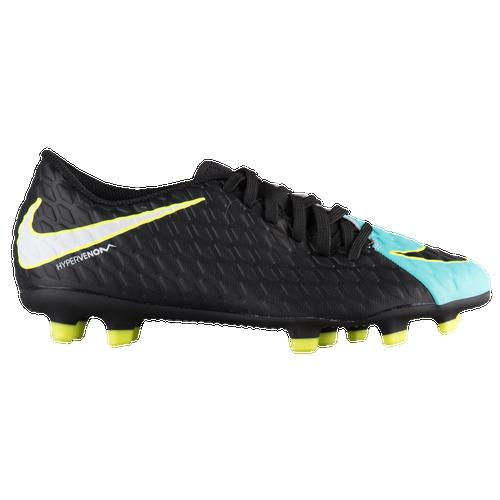 Nike Hypervenom Phade III FG - Women's - Soccer - Shoes - Light Aqua/White/ Black