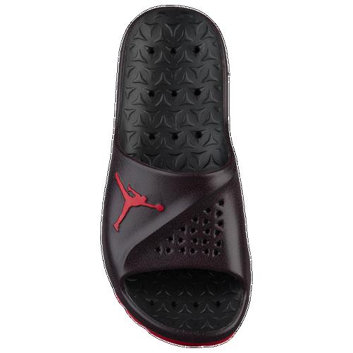 ba40f2663f61 Jordan Super.Fly Team Slide 2 - Men s - Casual - Shoes - Black University  Red Dark Team Red