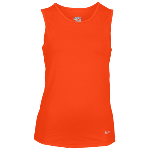 Eastbay Team Compression Track Singlet - Women's - Orange