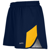 "Eastbay Team 2"" 2 Color Split Track Short 2.0 - Men's - Navy / Gold"