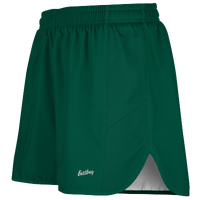 "Eastbay Team 2"" Solid Split Track Short 2.0 - Men's - Dark Green / Dark Green"