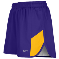"Eastbay Team 2"" 2 Color Split Track Short 2.0 - Men's - Purple / Gold"