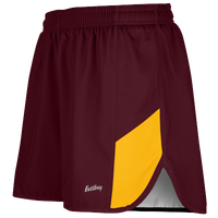 "Eastbay Team 2"" 2 Color Split Track Short 2.0 - Men's - Maroon / Gold"