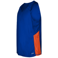 Eastbay Team Two Color Singlet - Men's - Blue / Orange
