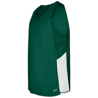 Eastbay Team Two Color Singlet - Men's - Dark Green / White