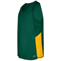 Eastbay Team Two Color Singlet - Men's - Dark Green / Gold