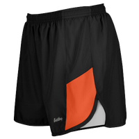 "Eastbay Team 2"" 2 Color Track Shorts - Women's - Black / Orange"