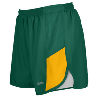 "Eastbay Team 2"" 2 Color Track Shorts - Women's - Dark Green / Gold"