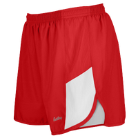 "Eastbay Team 2"" 2 Color Track Shorts - Women's - Red / White"