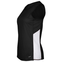 Eastbay Team Two Color Singlet - Women's - Black / Black