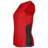 Eastbay Team Two Color Singlet - Women's - Red / Black