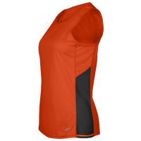 Eastbay Team Two Color Singlet - Women's - Orange / Black