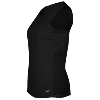 Eastbay Team Solid Track Singlet - Women's - All Black / Black