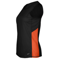 Eastbay Team Two Color Singlet - Women's - Black / Orange