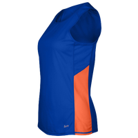 Eastbay Team Two Color Singlet - Women's - Blue / Orange