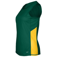 Eastbay Team Two Color Singlet - Women's - Dark Green / Gold