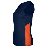 Eastbay Team Two Color Singlet - Women's - Navy / Orange