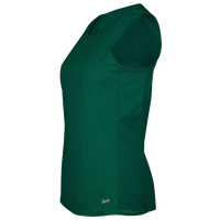 Eastbay Team Solid Track Singlet - Women's - Dark Green / Dark Green