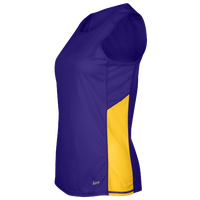 Eastbay Team Two Color Singlet - Women's - Purple / White