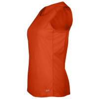 Eastbay Team Solid Track Singlet - Women's - Orange / Orange