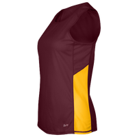 Eastbay Team Two Color Singlet - Women's - Maroon / Gold