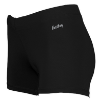 "Eastbay Team 3"" Compression Track Shorts - Women's - All Black / Black"