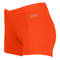 "Eastbay Team 3"" Compression Track Shorts - Women's - Orange / Orange"