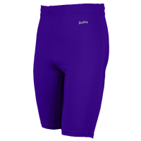 "Eastbay Team 9"" Compression Track Shorts - Men's - Purple / Purple"