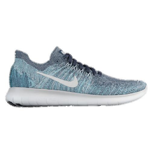 Nike Free RN Flyknit 2 - Boys' Grade School - Nike - Running - Blue  Fox/Pure Platinum
