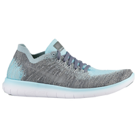 6db18d77f5764 Nike Free RN Flyknit 2 - Girls  Grade School - Light Blue   Silver