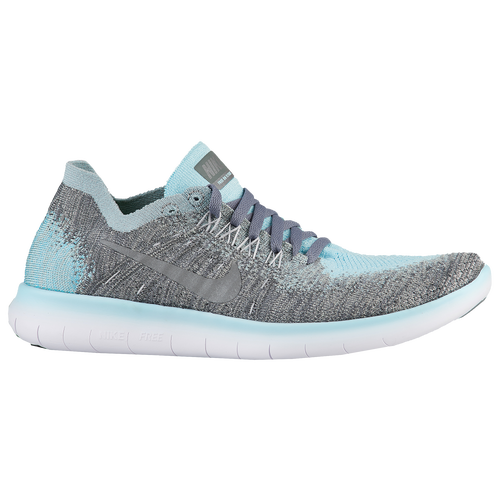 free shipping afdc6 95292 Nike Free RN Flyknit 2 - Girls Grade School - Running - Shoes - Met Silver  . ...