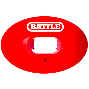 Battle Sports Oxygen Mouthguard - Adult - Red/White