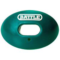 Battle Sports Oxygen Mouthguard - Adult - Dark Green / White
